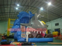 Inflatable Shark Slide