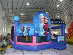 5 In 1 Frozen Bounce House Combo