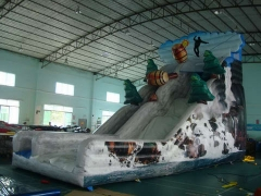 Inflatable Jungle Slide