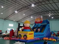 Loading Member Inflatable Slide