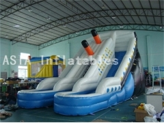 15 Foot Inflatable Titanic Slide