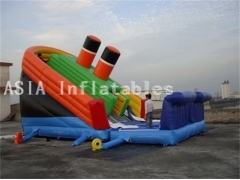 Giant Inflatable Titanic Slide