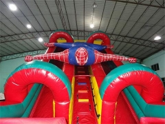 Inflatable Spiderman Slide