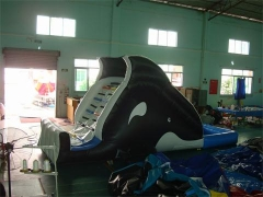 Inflatable Whale Water Slide