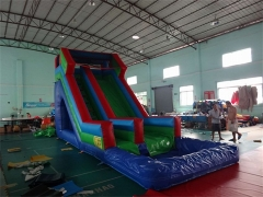 Splash Down Inflatable Water Slide