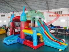 Customized 4 In 1 Inflatable Mini Bouncer Combo