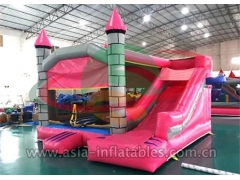 Party Bouncer Inflatable Jumping Castle With Mini Slide