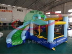 Party Bouncer Home Use Inflatable Mini Bouncer With Slide