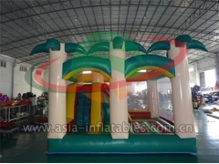 Party Bouncer Commercial Use Inflatable Palm Tree Bouncer