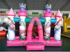 Party Bouncer Party Inflatable Pink Cartoon Mini Bouncer