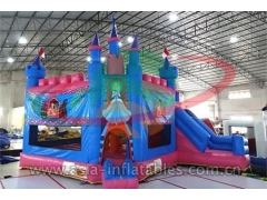 Party Bouncer Inflatable Cinderella Bouncy Castle For Event