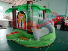 Party Bouncer Inflatable Mini Safari Bouncer With Slide