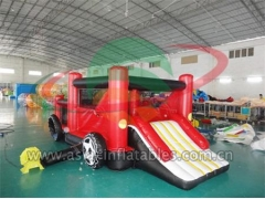 Party Bouncer Inflatable Mini Mobile Car Bouncer For Kids