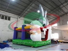 Party Bouncer Inflatable Bunny Bouncer For Party