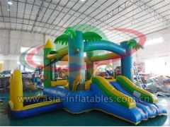 Party Bouncer Inflatable Jungle Forest Mini Bouncer