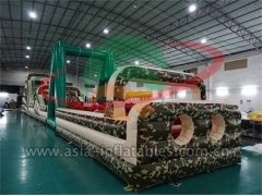 New Arrival Commercial Use Inflatable Boot Camp Obstacle For Event