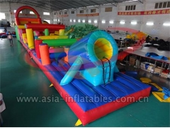 Giant Inflatable Obstacles 18mL Inflatable Obstacle Sport For Event