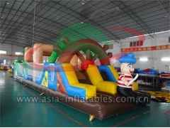 New Arrival Inflatable Obstacle Course Games In Pirate Theme