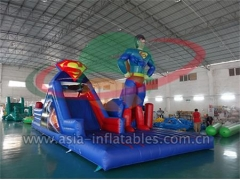 New Arrival Outdoor Inflatable Superman challenge Obstacle Course