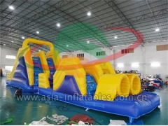 New Arrival Outdoor Inflatable Obstacle Course Run Games