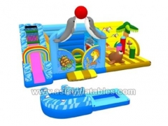 inflatable water fun city