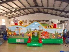 New Design Little Builder Educational Inflatable Jumper With Wholesale Price