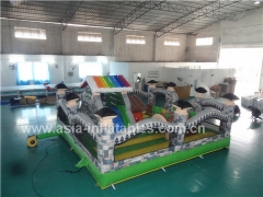 New Design Garden House Inflatable Playland For Children With Wholesale Price