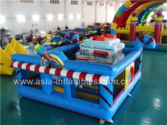 Exciting Fun Inflatable Ice Cream Playground in Factory Price