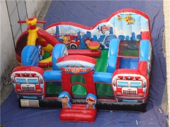New Design Rescue Squad Inflatable Toddler Playground With Wholesale Price