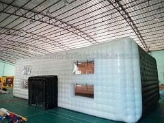 Hot Selling Event Inflatables Airtight Inflatable Cube Tent in Factory Price