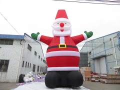 Perfect Design 12m Inflatable Santa Claus in Factory Price
