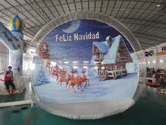 Hot Selling Event Inflatables Bubble Tent Inflatable Snow Globe for Take Photo in Factory Price