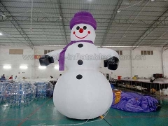 Hot Selling 4mH Inflatable Snowman in Factory Price