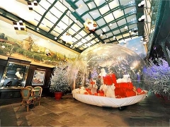 Hot Selling Event Inflatables Inflatable Snow Globe for Christmas Holiday Decoration in Factory Price