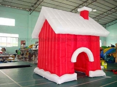 Hot Selling Inflatable Christmas House in Factory Price