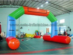 Perfect Design Durable PVC Tarpaulin water floating Inflatable airtight arch for advertising in Factory Price