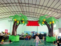 Hot Selling New Design Custom Tree shape Inflatable Arch for advertising or opening In Factory Price