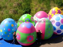 Perfect Design Custom print inflatable advertising egg balloon giant inflatable easter eggs for festival decoration in Factory Price