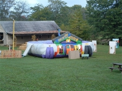 Fantastic The Haunted House Inflatable​ Maze