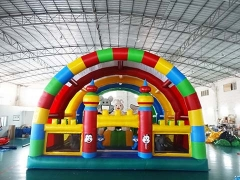 New Design Interesting Inflatable Castle Inflatable Rabbit Fun City For Kid Playground With Wholesale Price