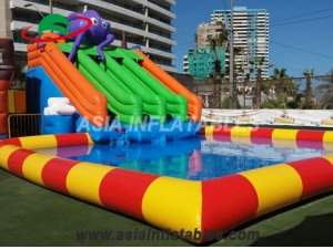 Inflatable Octopus Water Park