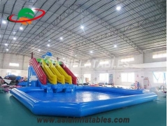 Inflatable Dolphin Water Park