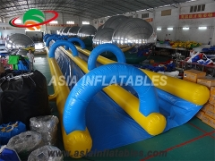 Inflatable Double Lane Slide