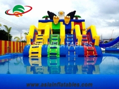 Inflatable Eagle Slide