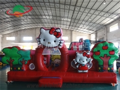 New Design Inflatable Hello Kitty Toddler Jumper For Girls With Wholesale Price