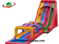 Inflatable Triple Water Slide
