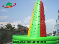 Commercial Colorful Inflatable Interactive Sport Games Inflatable Mountain Climbing Wall & Interactive Sports Games