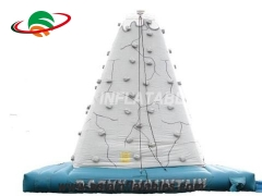 Exciting Fun Outdoor Inflatable Deluxe Rock Climbing Wall Inflatable Climbing Mountain For Sale in Factory Price