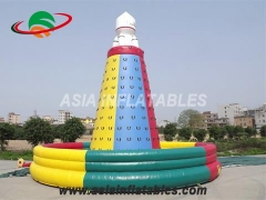 Exciting Fun High Quality Inflatable Rock Climbing Wall Inflatable Interactive Games in Factory Price