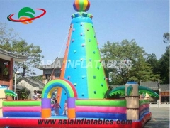 Exciting Fun Amazing Inflatable Games, Inflatable Rock Climbing Wall Tower in Factory Price
